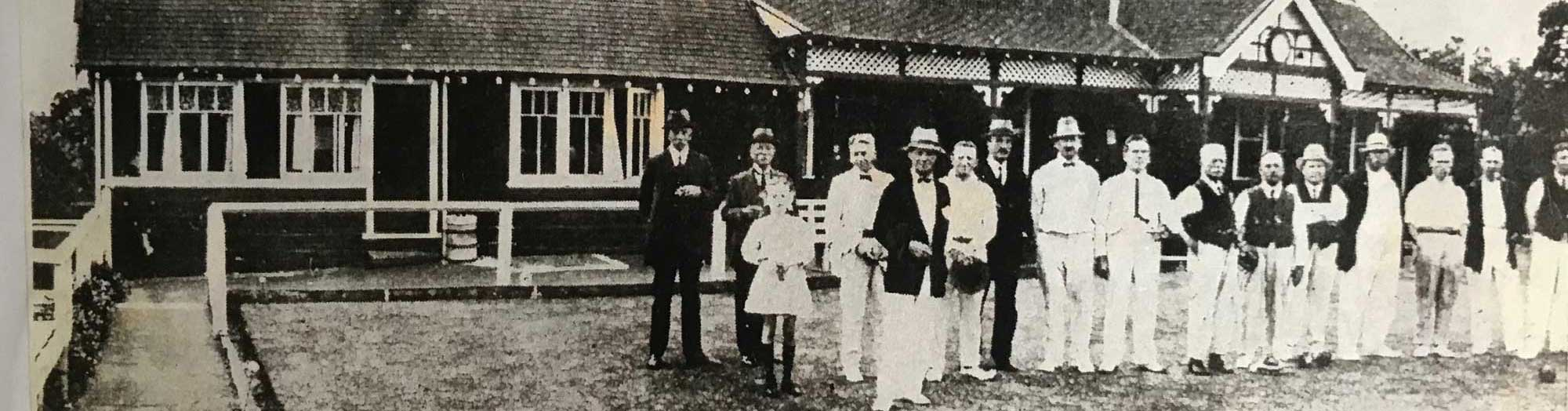Proud Members of the Mosman Bowling Club